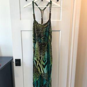 TAGS ON! Small Tropical print BEBE dress
